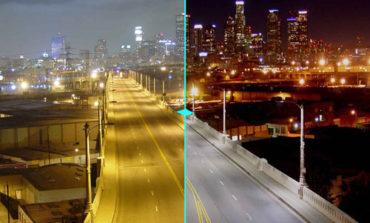 ستاره باران LED در شهرهای مختلف جهان