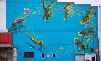 هنرهای خیابانی، گرافیتیهای عالی