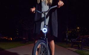 Double O؛ چراغهای آهنربایی LED برای دوچرخه شما