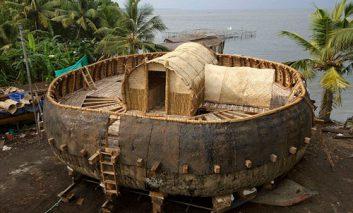 بازسازی کشتی ۳۰ ضلعی نوح بر اساس لوح بابلی ۴۰۰۰ ساله