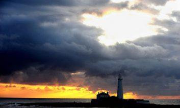 فانوس جزیره سنت ماری در تغییرات آب و هوا