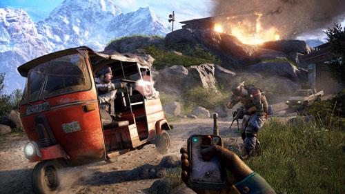 معرفی سلاحهای بازی در تریلر جدید Far Cry 4