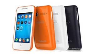 گسترش بازار Firefox OS، عرضه آلکاتل وانتاچ فایر سی در هند