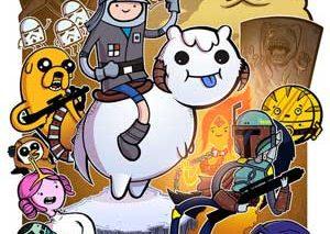 شخصیتهای «Adventure Time» در قالب شخصیتهای محبوب تخیلی