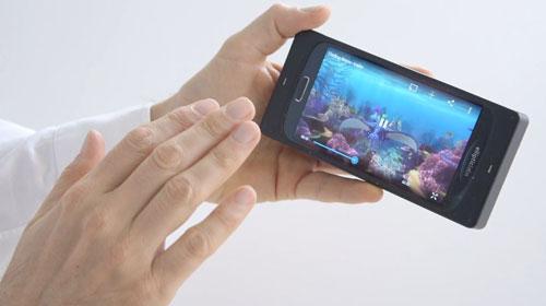 امکان کنترل گوشیها با حسگر فراصوتی + ویدیو