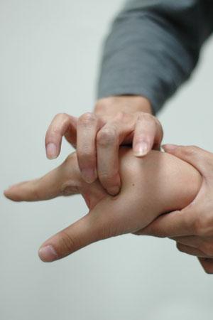 نقاط طب فشاری و ماساژدرمانی