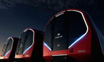 قطارهای جذاب و بدون راننده در متروی لندن