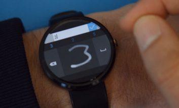 ساخت کیبورد مختص ساعتهای اندرویدی توسط مایکروسافت + ویدیو