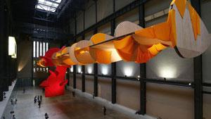 نمایش آخرین اثر «ریچارد تاتل» در «گالری تِیت» لندن