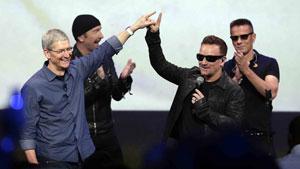 عذر خواهی «U2» از کاربران آی تونز!