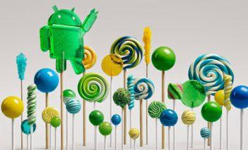 اندروید ۵٫۰ گوگل رسما Lollipop نام گرفت