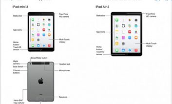 اپل اشتباها اطلاعات آیپدهای جدید ایر و مینی را در آیتونز منتشر کرد!