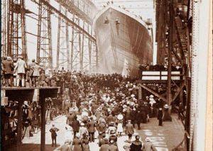 نمایش تصاویری دیده نشده از کشتی تایتانیک