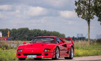 فروش یک دستگاه Ferrari F40 به قیمت ۸۷۰ هزار دلار
