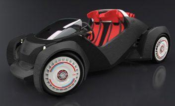 ساخت یک اتومبیل با پرینتر سهبعدی + ویدیو