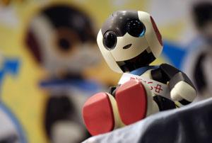 روبات کوچک سخنگوی آوازهخوان