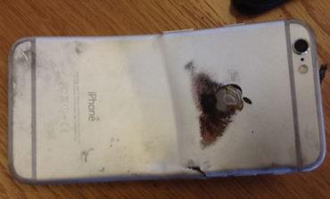 ادعای یکی از کاربران: آیفون ۶ در جیب شلوار خم شد و آتش گرفت! + ویدیو