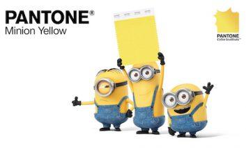 رنگ جدید شرکت پنتون: زرد مینیون!