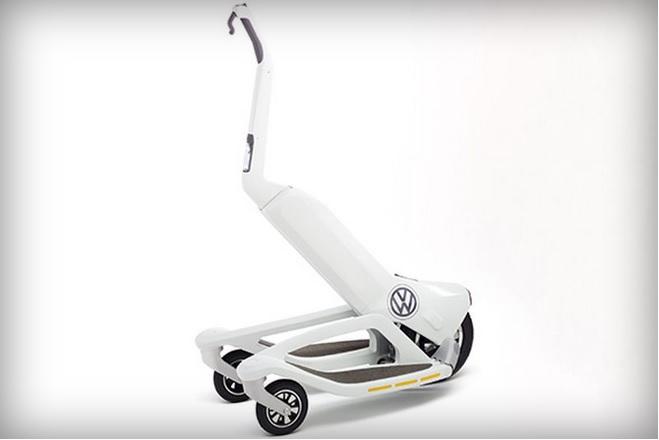 ارائه اسکوتر الکتریکی سهچرخه توسط فولکسواگن