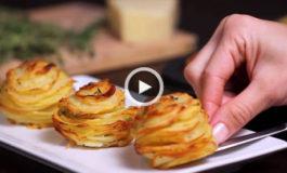 چیپس سیبزمینی طبقهای