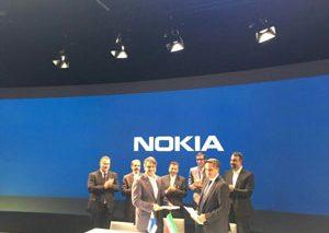 تفاهمنامه همکاری با نوکیا برای گسترش تکنولوژی TDD-LTE در ایران