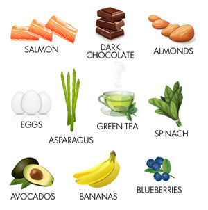 ۱۰ ماده غذایی برای درمان افسردگی