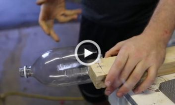 ساخت طناب با از بطری پلاستیکی