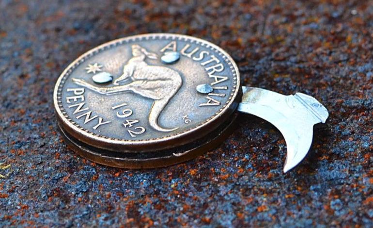 ساخت چاقو تاشو در سکه