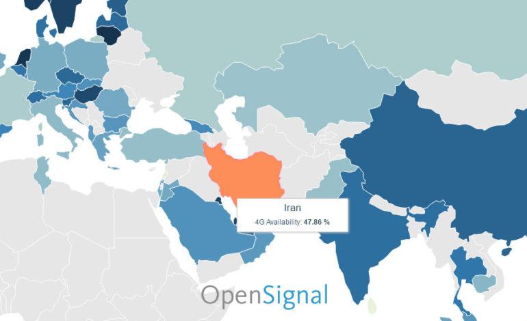 سریعترین اینترنت موبایل جهان در سنگاپور؛ ایران در مکان هفتاد و یکم
