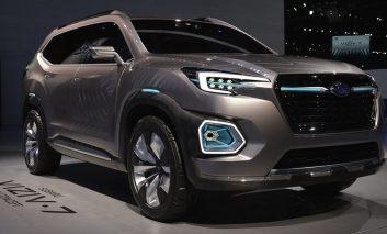 آینده را در اتومبیل سوبارو ویزیو-۷ (Viziv-7) ببینید
