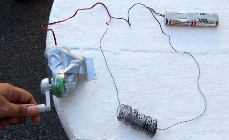 خودتان شارژر باتری بسازید