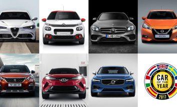 فینالیستهای بهترین اتومبیل اروپایی مشخص شدند