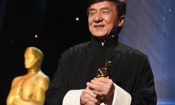 جکی چان جایزه اسکار را به خانه برد