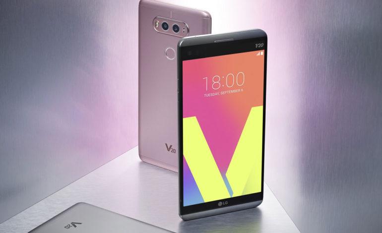 گوشی هوشمند الجی V20 از این هفته در دسترس ایرانیان قرار خواهد گرفت