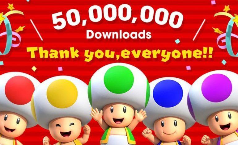 Super Mario Run مرز پنجاه میلیون دانلود را رد کرد