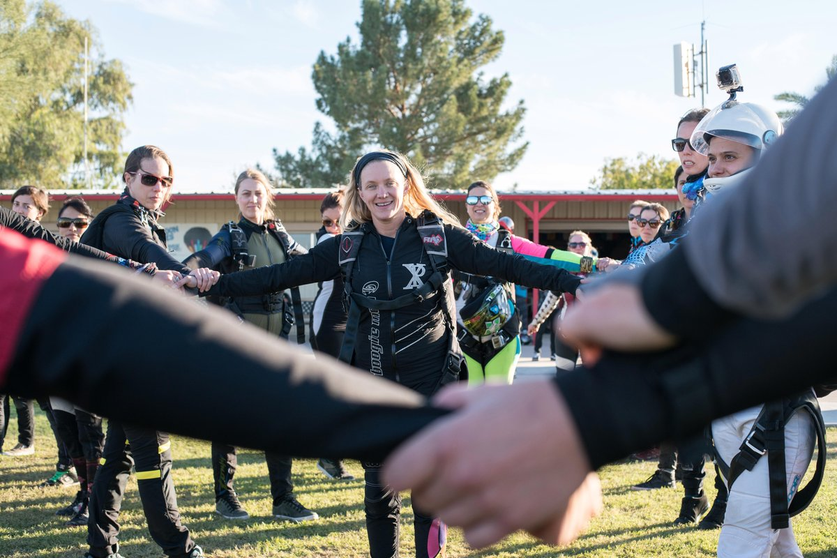Women's Verticle World Record in Eloy, Arizona