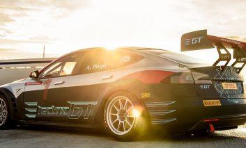 اولین اتومبیل مختص مسابقه تسلا