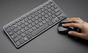 راهنمای اتصال ماوس و صفحهکلید بیسیم به کامپیوتر