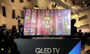 تلویزیونهای خانواده QLED سامسونگ رونمایی شدند
