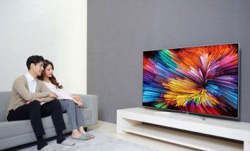 فناوری نانو سل در تلویزیونهای Super UHD جدید الجی سال ۲۰۱۷
