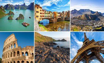 دیدنیترین مکانهای اروپا برای تعطیلات