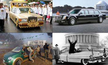 خودروهای منحصربهفرد رئیسجمهورها