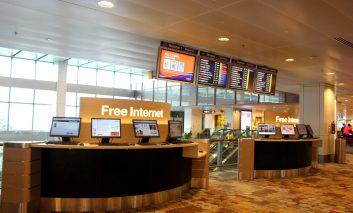 نقشهای برای اتصال رایگان به اینترنت در فرودگاههای جهان