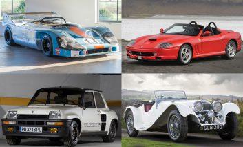 جالبترین و گرانترین خودروهای حراجی سال ۲۰۱۷ آراِم ساتبیز پاریس