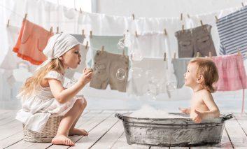 شوینده خانگی لباس برای کودکان و پوستهای حساس