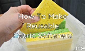 نرمکننده معطر خانگی برای لباس با چندین بار استفاده