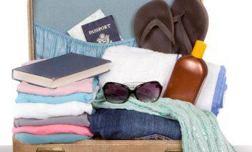 یک روش آسان و زیرکانه برای چمدان بستن