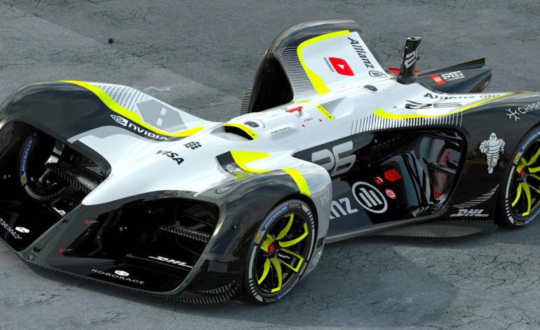 اولین خودروی خودران مختص مسابقه جهان