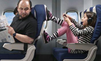 نکاتی برای کنترل کودکان و نوپایان وروجک در سفرهای هوایی