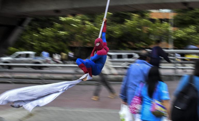 مرد عنکبوتی واقعی است!